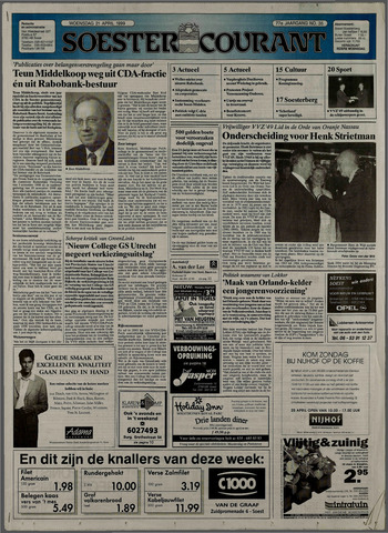 Soester Courant 1999-04-21