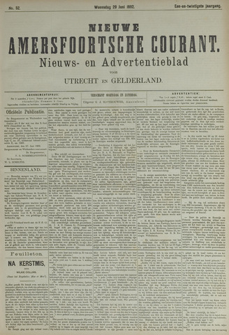 Nieuwe Amersfoortsche Courant 1892-06-29