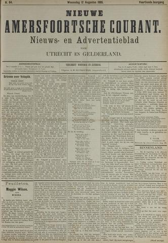 Nieuwe Amersfoortsche Courant 1885-08-12