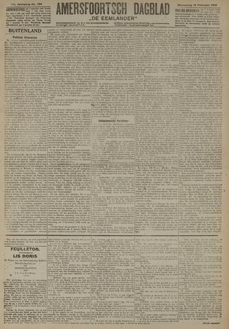 Amersfoortsch Dagblad / De Eemlander 1919-02-19