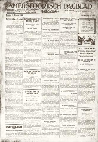 Amersfoortsch Dagblad / De Eemlander 1930-02-25