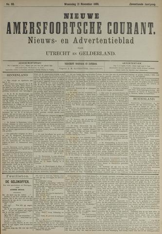 Nieuwe Amersfoortsche Courant 1888-11-21