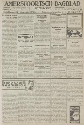 Amersfoortsch Dagblad / De Eemlander 1930-09-02