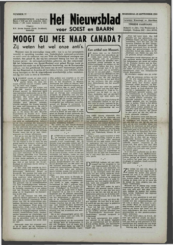 Soester Courant 1943-09-29