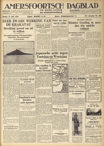 Amersfoortsch Dagblad / De Eemlander 1939-06-27