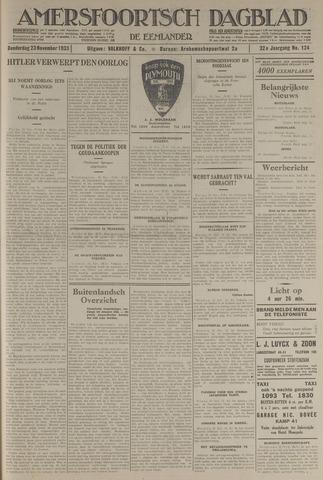 Amersfoortsch Dagblad / De Eemlander 1933-11-23