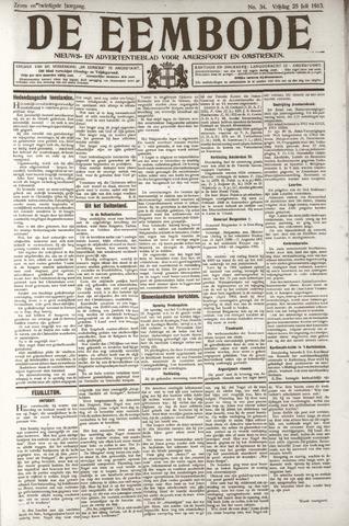 De Eembode 1913-07-25