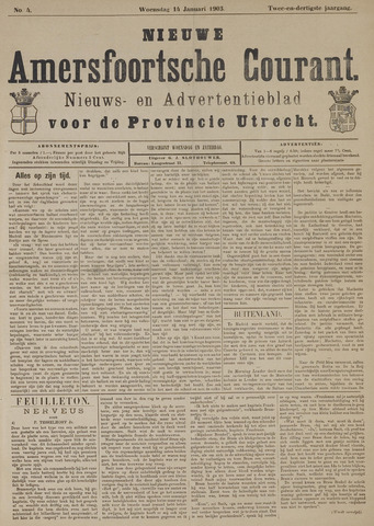 Nieuwe Amersfoortsche Courant 1903-01-14