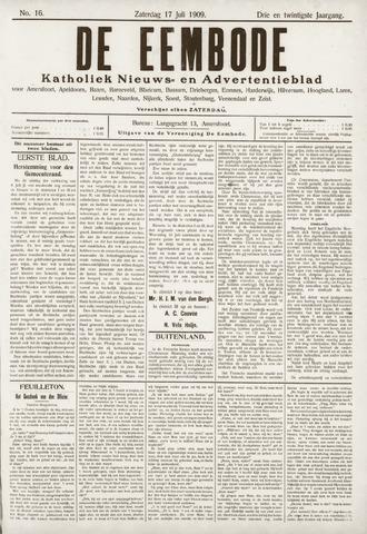 De Eembode 1909-07-17
