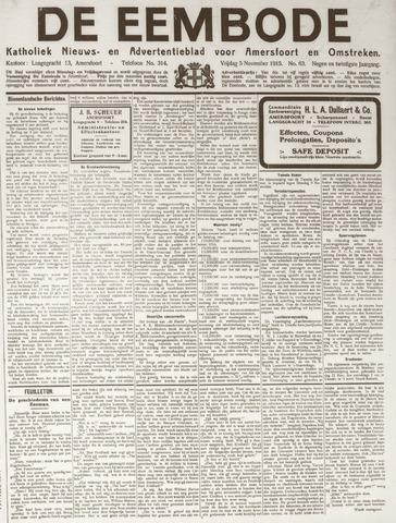 De Eembode 1915-11-05