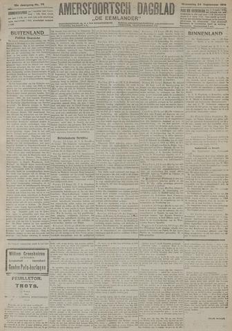 Amersfoortsch Dagblad / De Eemlander 1919-09-24