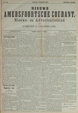 Nieuwe Amersfoortsche Courant 1889-11-09