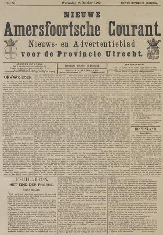 Nieuwe Amersfoortsche Courant 1905-10-18