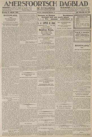 Amersfoortsch Dagblad / De Eemlander 1928-02-21