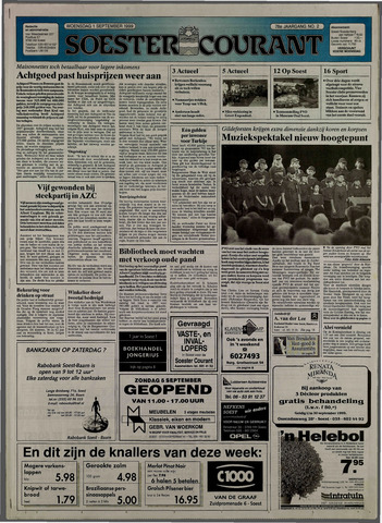 Soester Courant 1999-09-01