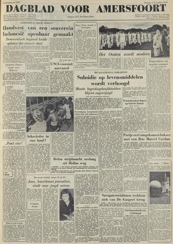 Dagblad voor Amersfoort 1949-11-01
