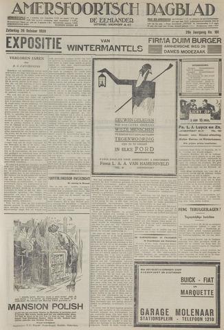 Amersfoortsch Dagblad / De Eemlander 1929-10-26