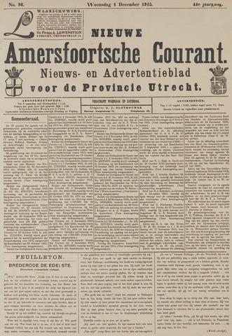 Nieuwe Amersfoortsche Courant 1915-12-01