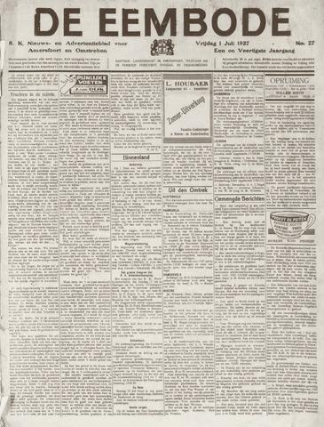 De Eembode 1927-07-01