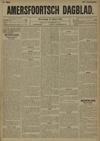 Amersfoortsch Dagblad 1912-03-27
