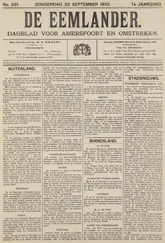 De Eemlander 1910-09-22