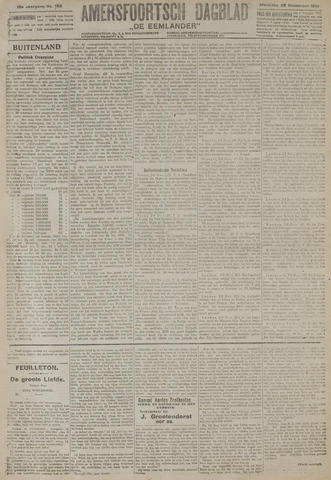 Amersfoortsch Dagblad / De Eemlander 1919-12-22