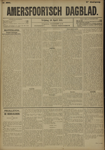 Amersfoortsch Dagblad 1911-04-28