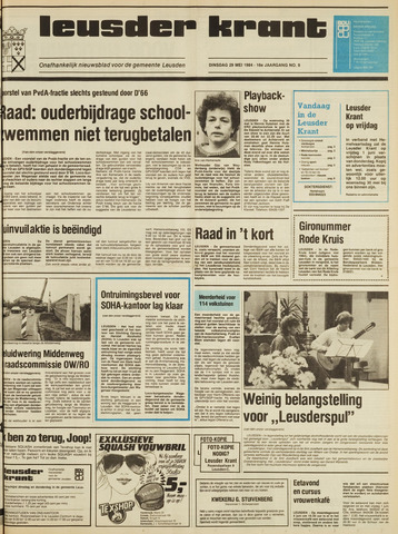 Leusder Krant 1984-05-29