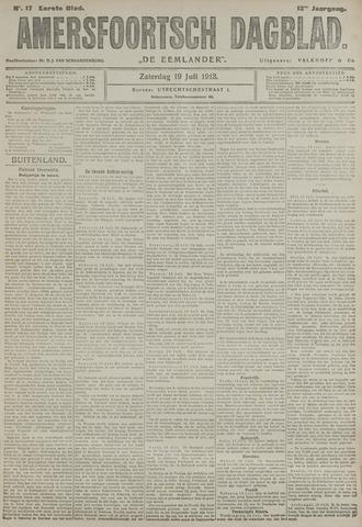 Amersfoortsch Dagblad / De Eemlander 1913-07-19