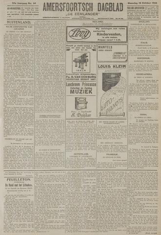 Amersfoortsch Dagblad / De Eemlander 1925-10-19