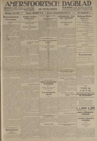 Amersfoortsch Dagblad / De Eemlander 1933-07-05