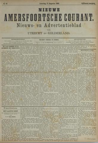 Nieuwe Amersfoortsche Courant 1886-08-21