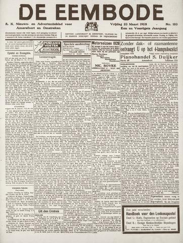 De Eembode 1928-03-23