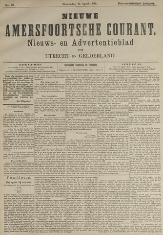 Nieuwe Amersfoortsche Courant 1894-04-11