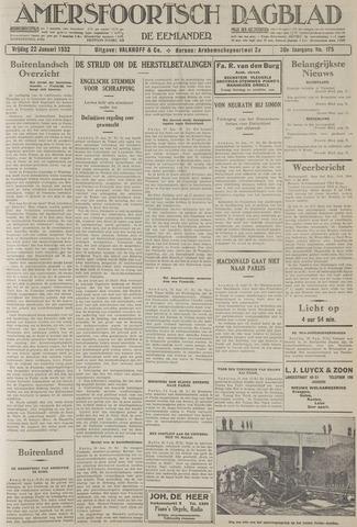 Amersfoortsch Dagblad / De Eemlander 1932-01-22