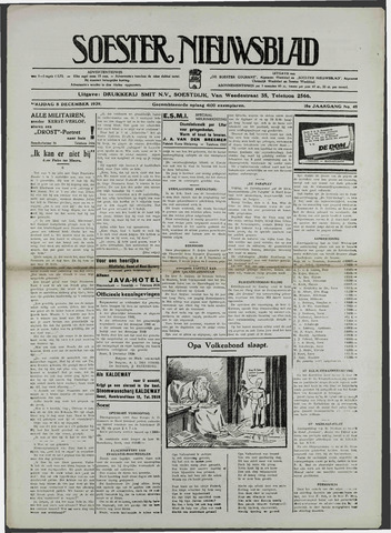 Soester Courant 1939-12-08