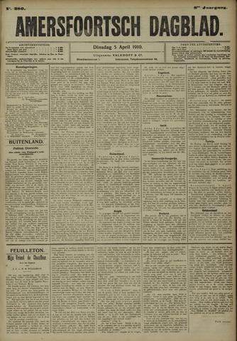 Amersfoortsch Dagblad 1910-04-05
