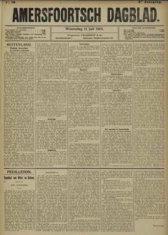 Amersfoortsch Dagblad 1905-07-12