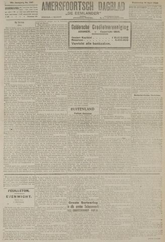 Amersfoortsch Dagblad / De Eemlander 1920-04-15
