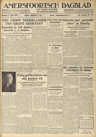 Amersfoortsch Dagblad / De Eemlander 1939-05-31