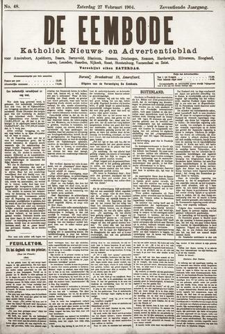 De Eembode 1904-02-27