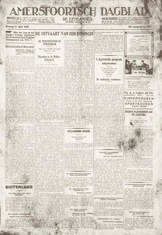 Amersfoortsch Dagblad / De Eemlander 1930-04-15