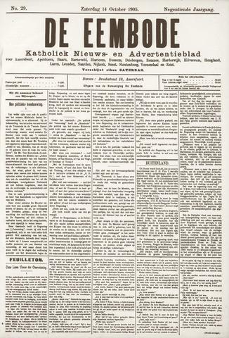 De Eembode 1905-10-14