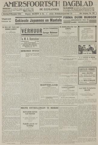 Amersfoortsch Dagblad / De Eemlander 1930-11-29