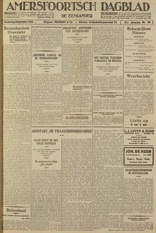 Amersfoortsch Dagblad / De Eemlander 1932-09-08