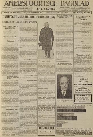Amersfoortsch Dagblad / De Eemlander 1932-04-11