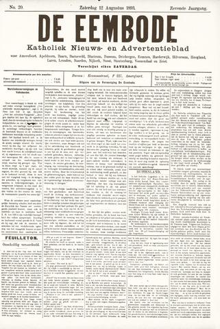 De Eembode 1893-08-12