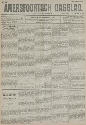 Amersfoortsch Dagblad / De Eemlander 1915-09-13