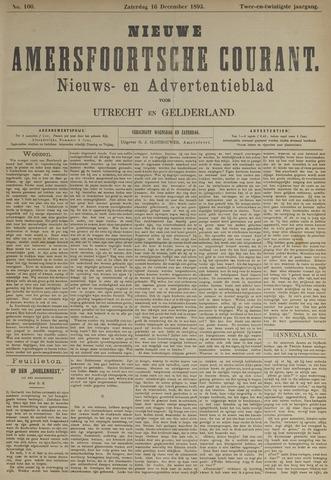 Nieuwe Amersfoortsche Courant 1893-12-16
