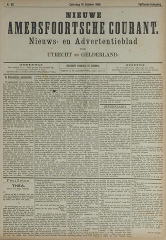 Nieuwe Amersfoortsche Courant 1886-10-16